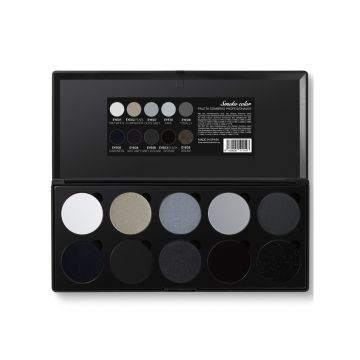 Amelia Professional Eyeshadow Kit - Smoke