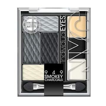 NYC Individualeyes Eye Shadow Palette - Smokey Charcoals - NY949SC