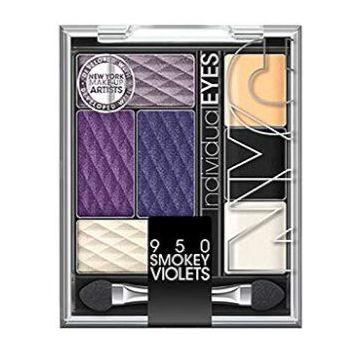 NYC Individualeyes Eye Shadow Palette - Smokey Violets - NY950SV