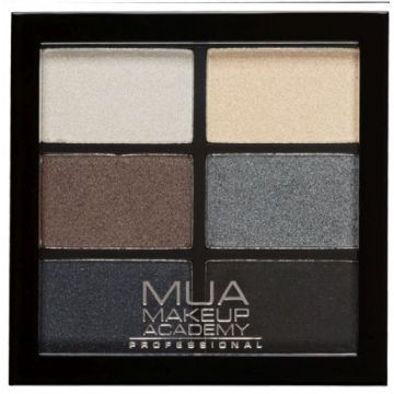 MUA pro 6 shade palettes - smokey shadows