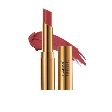 Lakme Absolute Argan Lip Color- Smooth Merlot - 8901030629037