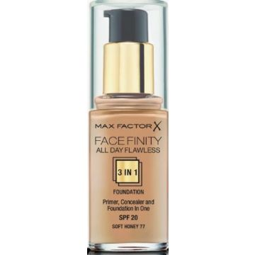 Max Factor Facefinity 3-IN-1 Foundation - Soft Honey - 77 - 3614225851674