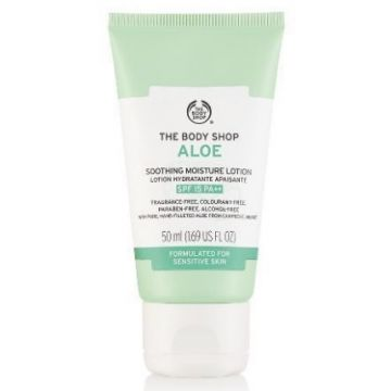 The Body Shop Aloe Soothing Moisture Lotion SPF 15 50ml