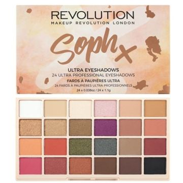 Makeup Revolution Eyeshadow Palette - Sophx