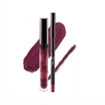 Kylie Matte Liquid Lipstick & Lip Liner - Spice 4.25g - US