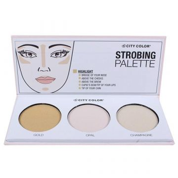 City Color CITY COLOR Strobing Palette - BB