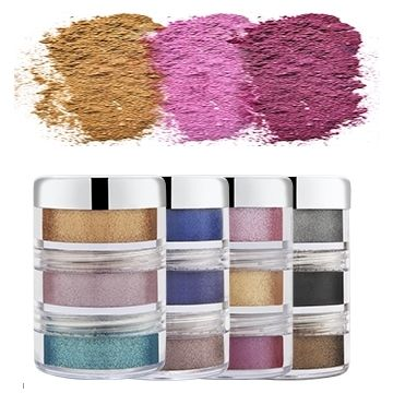 Luscious Cosmetics Precious Metals Loose Shimmer Eyeshadows - Supernova