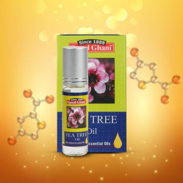 Saeed Ghani Tea Tree Oil - 10ml - 8964000507131