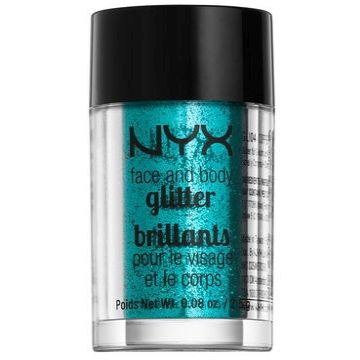 NYX Face And Body Glitters Brillants - GLI03 Teal