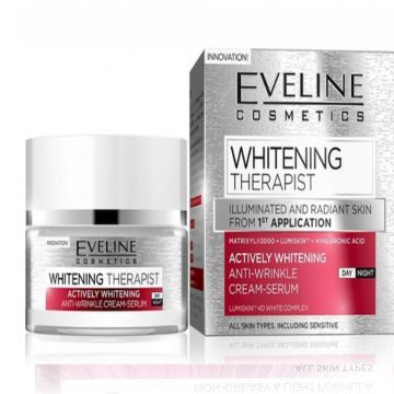 Eveline Whitening Therapist Day and Night Cream 50ml - 07-03-00021