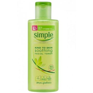 Simple Skincare Soothing Facial Toner 200ml