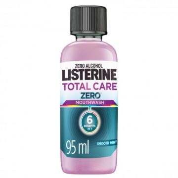 Listerine Total Care Zero Alcohol, Smooth Mint Mouthwash - 95ml - 3574661249384
