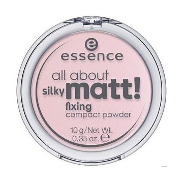 Essence All About Silky Matt Fixing Compact Powder - Transluscent Rose (10) - US