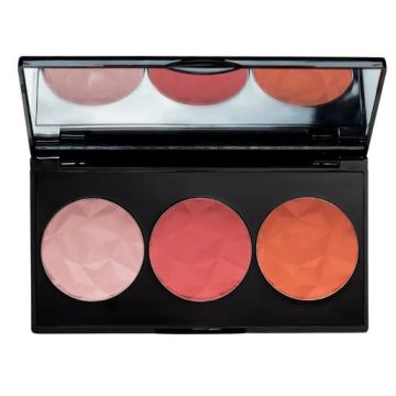 Mua Luxe Bashful Trio Blush - #01