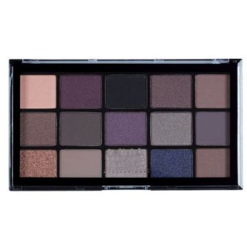 MUA Pro 15 Shade Eyeshadow Palette - Twilight Delight