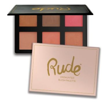 Rude Undaunted Blush Palette - 65548
