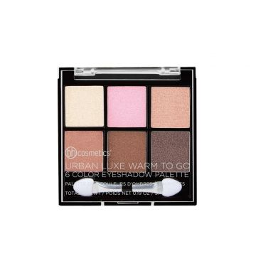 BH Cosmetics Urban Luxe Warm To Go  6 Color Eyeshadow Palette