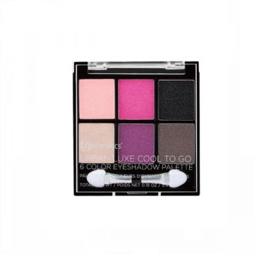 BH Cosmetics Urban Luxe Cool To Go - 6 Color Eyeshadow Palette - US