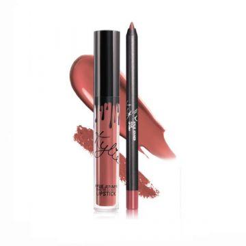 Kylie Matte Liquid Lipstick & Lip Liner - Vixen 4.25g - US
