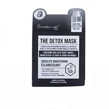 The Creme Shop The Detox Mask Volcanic Ash Clay Sheet Mask