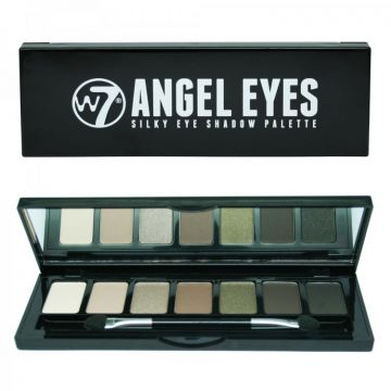 W7 Cosmetics  Angel Eyes Silky Eyeshadow Palette - Out On The Town