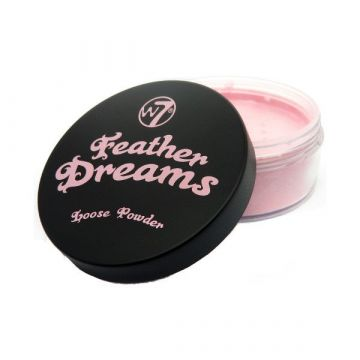 W7 Cosmetics Feather Dreams Loose Powder - Perfect Pink - j4g