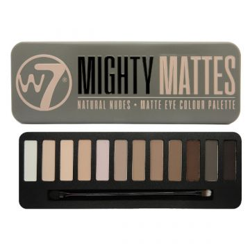 W7 Cosmetics Natural Nudes Matte Eye Colour Palette - Mighty Mattes