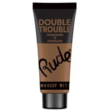 Rude Double Trouble Foundation + Concealer - 87933 Walnut