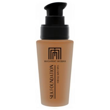 Masarrat Misbah Makeup Silk Foundation - Warm Golden