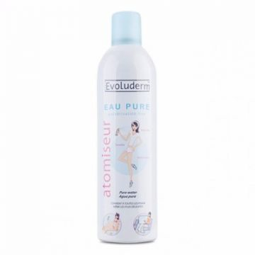 Evoluderm Pure Water Spray - 150ml Compact Size