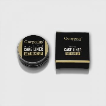 Gorgeous Met Cake Liner Wet Makeup - Black