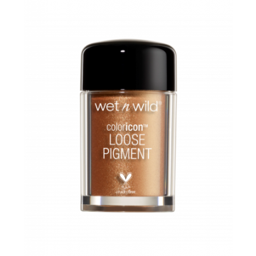 Wet N Wild Color Icon Loose Pigment Gold Pigment - (12922)