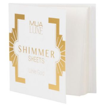 MUA Luxe Shimmer Sheet - White Gold