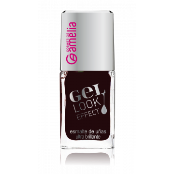 Amelia Gel Look Effect Nail Polish - Wine