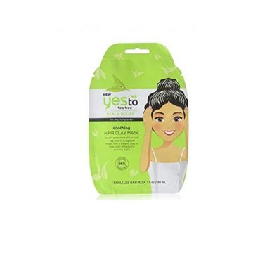Yesto Tea Tree Soothing Hair Clay Mask - 30ml